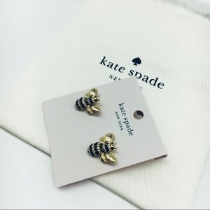 Kate Spade Perfect Picnic Pave Bee Earrings